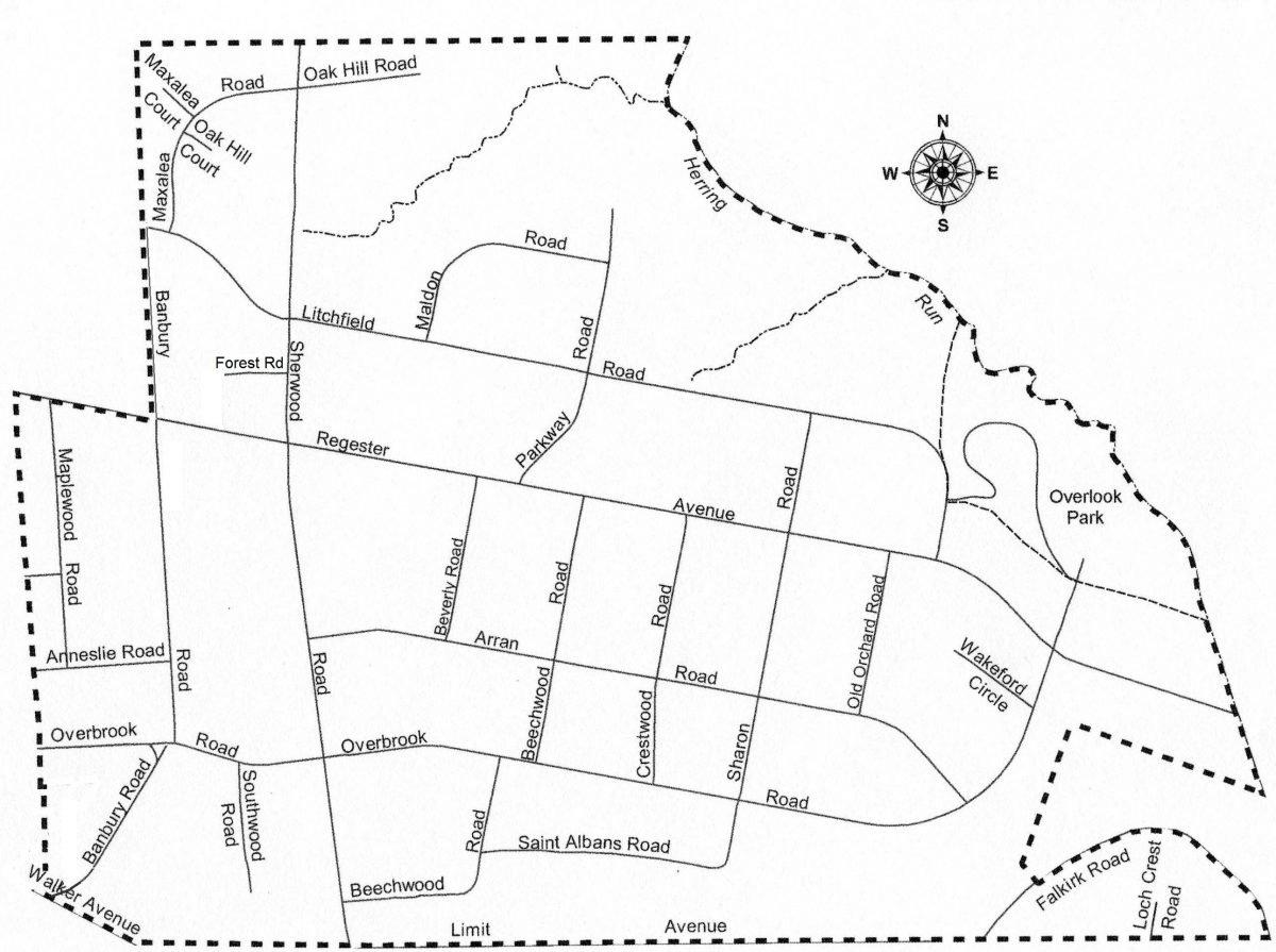 Idlewylde map
