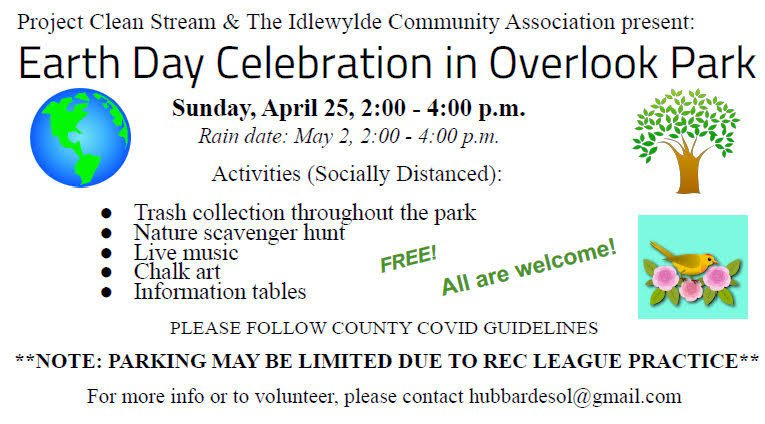 Earth Day Celebration @ Overlook Park